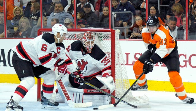 Jake Voracek and the Flyers haven't scored a power play goal in quite a while.