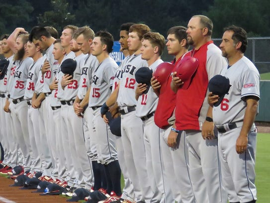 The University of Southern Indiana faced top-seeded