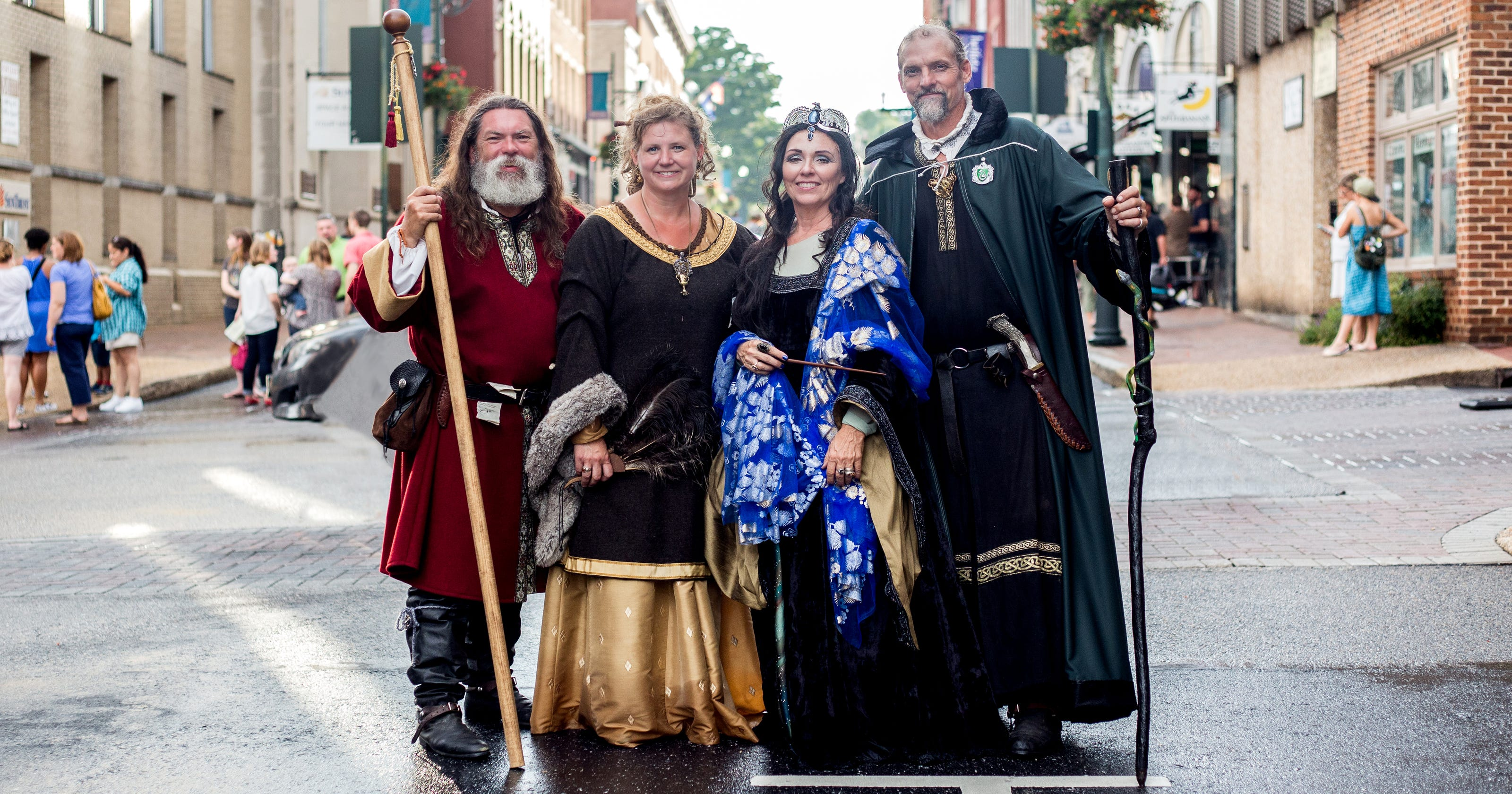 Staunton's Hogwarts Founders are life of Queen City ...