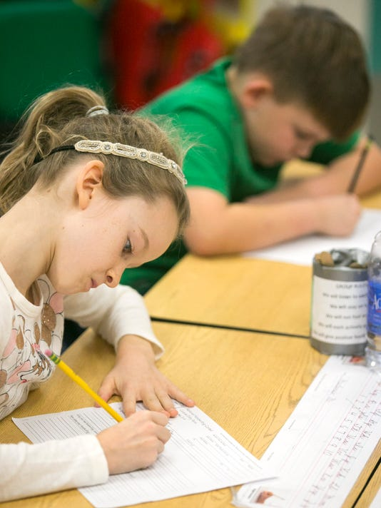 PNI Anasazi elementary in national cursive contest