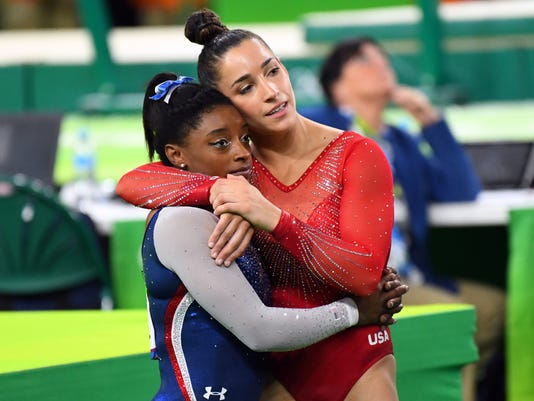 Olympics: Gymnastics - Artistic-Women's Individual All-Around-Final Vault