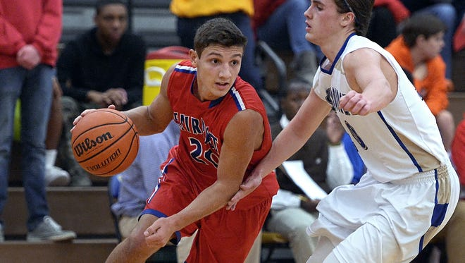 Fairport's Dan Masino in action early this month for Fairport.