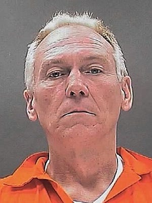 Jeffrey Wass of Evesham was sentenced to a five-year prison term Thursday for shooting at a policeman.