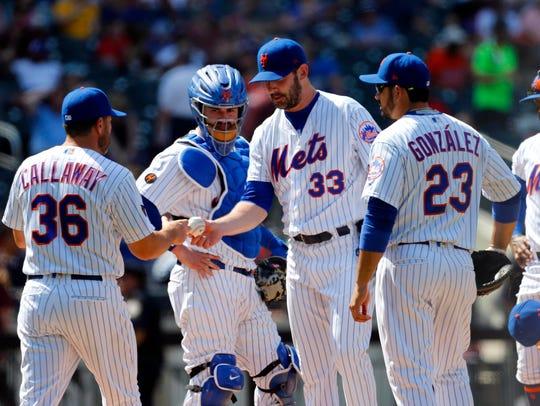 May 3, 2018; New York City, NY, USA;  New York Mets
