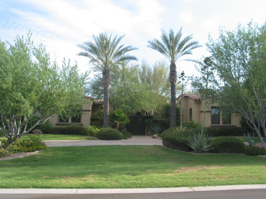 Andrea Stewart-Pritchett used her trust to pay $2.85 million cash for this five bedroom, 5 ½ bath 6,982 square-foot home with guest house, kids retreat and pool at Rancho Sunnyvale in Paradise Valley. The sale closed dur the week of June 15, 2015.