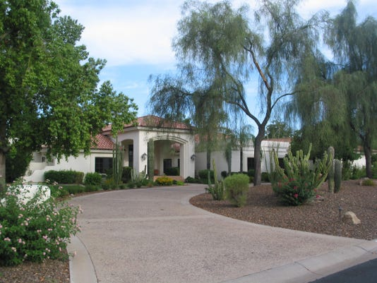 Durrell and Synthia Miller paid $2.3 million in cash for this 5,308 square-foot home at Elegancia in Paradise Valley. The sale closed during the week of July 27, 2015.