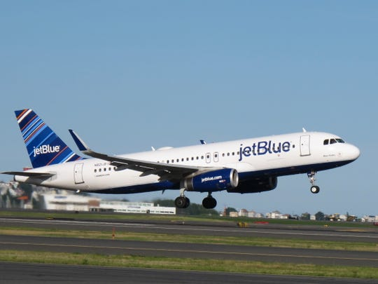 Two crew members have filed a lawsuit in federal court against JetBlue and two pilots.