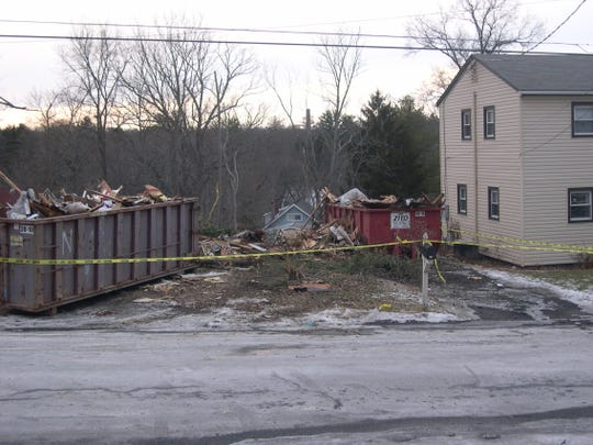 Husband Demolishes House