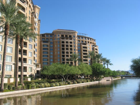 Ben Hudye, using a Nevada LLC, paid $2.182 million in cash for a 3,119 square-foot condo at Scottsdale Waterfront Residences. The sale closed during the week of August 18,2014.