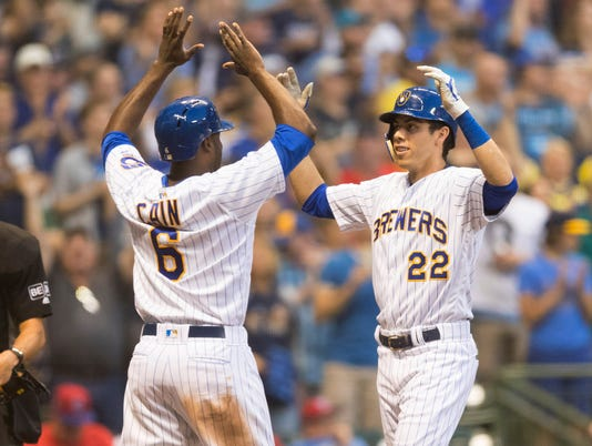 MLB: Philadelphia Phillies at Milwaukee Brewers