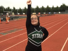 Student with Down syndrome achieves dream to be a cheerleader