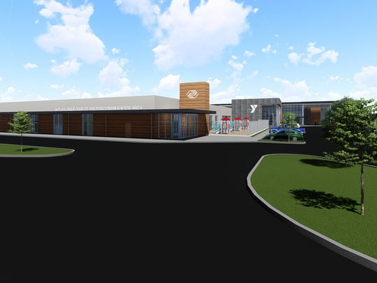 Plans for the YMCA and Boys & Girls Club in Wisconsin Rapids.