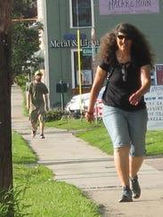 Debra Blumberg, a teacher at Burlington High School,