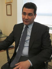 Food and Drug Administration Commissioner Scott Gottlieb during an April  5, 2017 interview in his office.