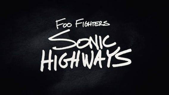 Foo Fighters' Sonic Highway album.
