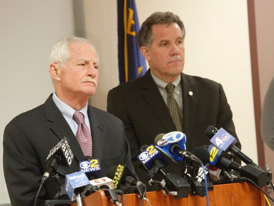 New Rochelle Acting Police Commissioner Joseph Schaller,