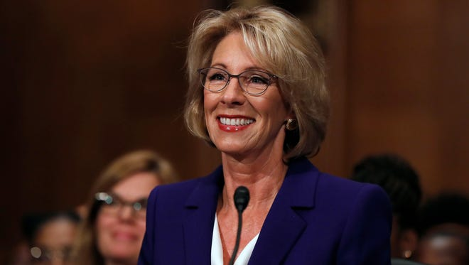 None of President Donald Trump's Cabinet nominations have received as much attention as the nomination of Michigan's Betsy DeVos