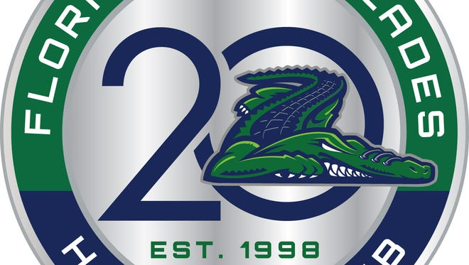 The Florida Everblades revealed their 20th anniversary logo for the 2017-18 season on Wednesday, July 5, 2017.