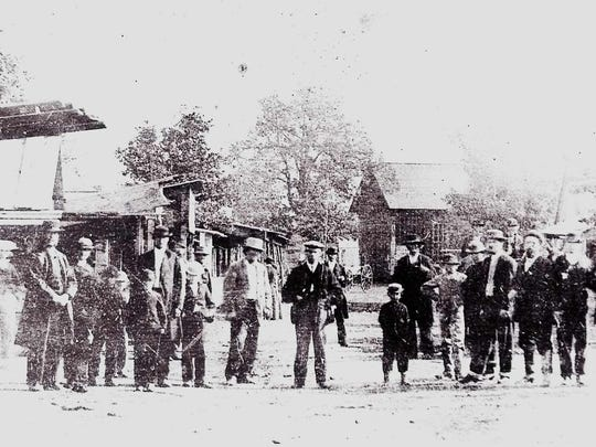 These folks attended the Oregon State Fair in 1862, the first year it was held in Salem.