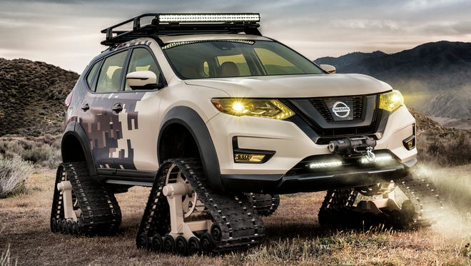 The Nissan Rogue Trail Warrior adds a new dimension  to family adventures