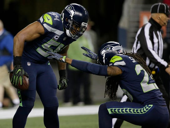 Bobby Wagner, Richard Sherman and the Seahawks defense