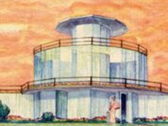 The House of Tomorrow, built in 1933 and in peril for