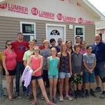 New Jersey churches sent youth groups to work on Second Wind Cottages in Newfield.