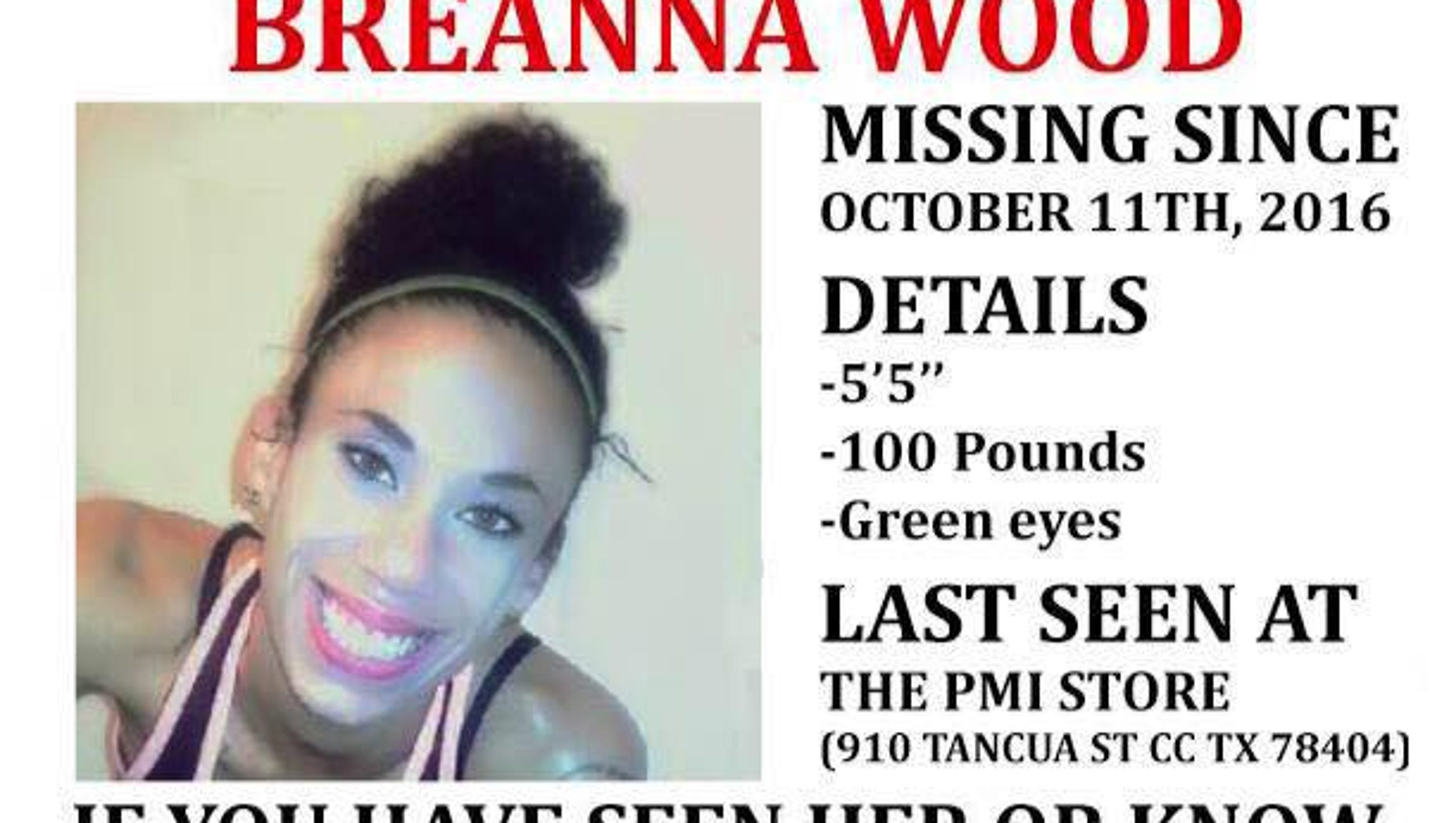 Timeline: The case of Breanna Wood