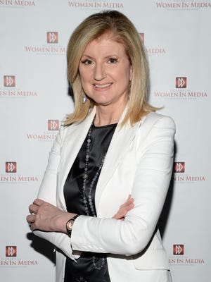 Arianna Huffington attends The Alliance for Women In Media Southern California Affiliate for 'An Inspiring Evening with Arianna Huffington' at CBS Studios - Radford on July 23, 2014, in Studio City, Calif.