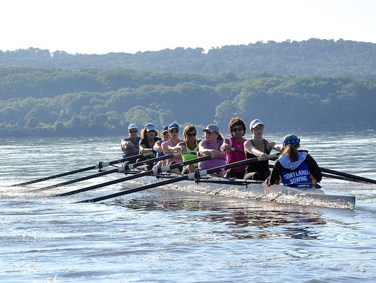 Cortlandt Community Rowing Association masters rowers