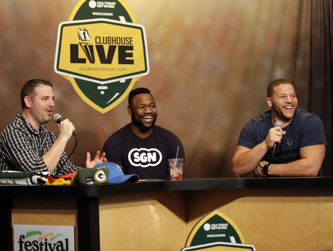 Clubhouse Live co-hosts Ty Montgomery and Brett Christopherson