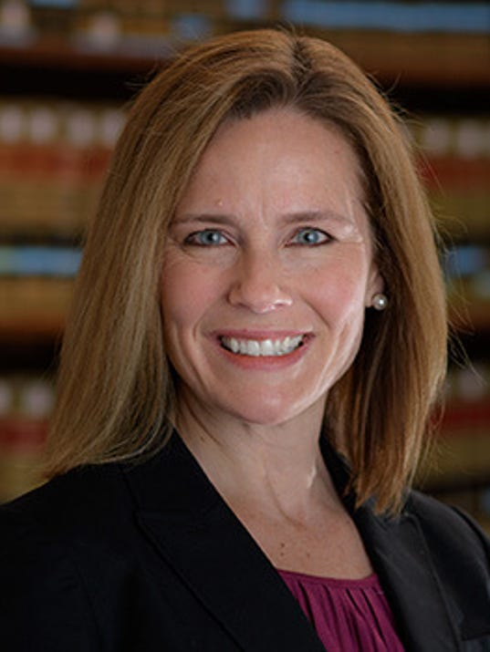 Anthony Kennedy's replacement should be Amy Barrett