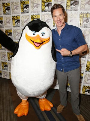 Benedict Cumberbatch was hanging out with penguins at Comic-Con, but he will be revisiting Shakespeare soon enough.