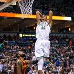 Giannis Antetokounmpo emerging as an NBA star
