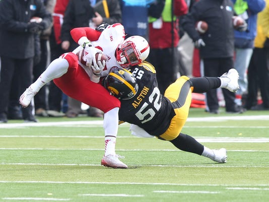 NCAA Football: Nebraska at Iowa