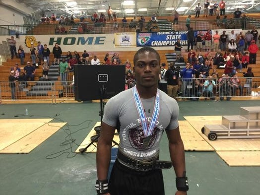 Madison County senior Derrien Graham captured sixth