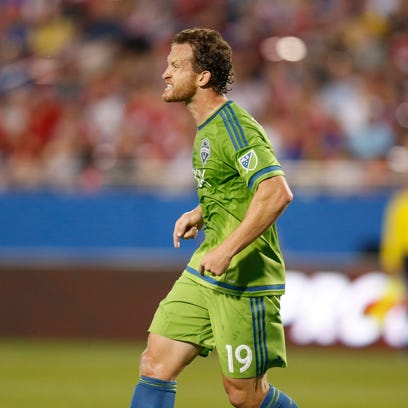 Mar 28, 2015; Dallas, TX, USA; Seattle Sounders FC