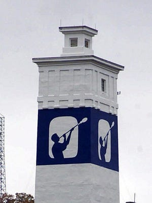 Corning Inc.'s Little Joe tower.