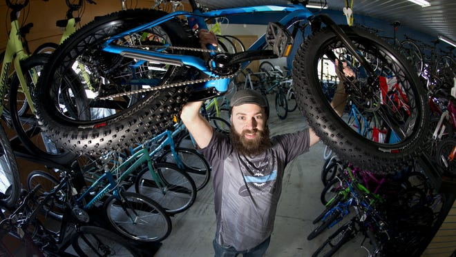 Josh Ball, one of the Fat Cupid Classic race directors, is fired up for the inaugural event, set for Feb. 14 in Grand Chute.