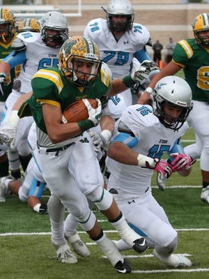 Mayfield running back Isaac Vance verbally committed to play football for Kent State Monday night.
