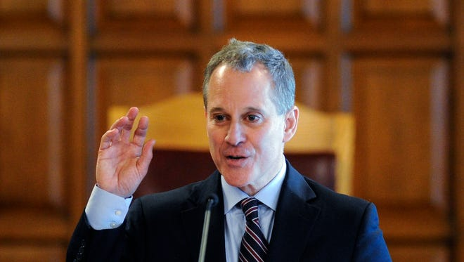 New York State Attorney Eric Schneiderman.