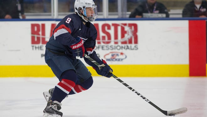 Brighton's Logan Cockerill, who played for the U.S. National Team Development Program, was drafted in the seventh round by the New York Islanders.