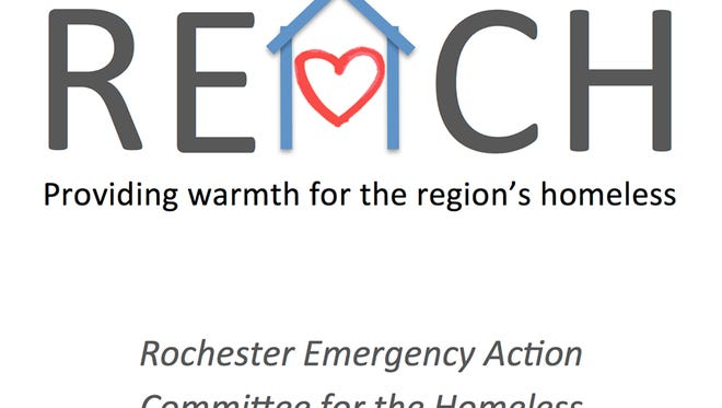 Rochester Emergency Action Committee for the Homeless logo.