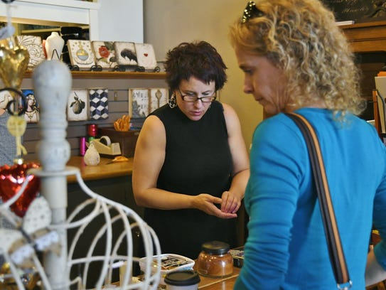 Paula Marvin, owner of Exeter's Rosemary and Thyme