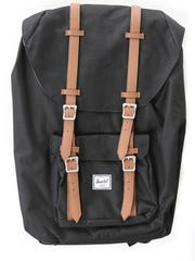 Classic carry-all: Herschel back pack, $90, at Steinmart.