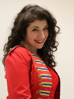 """Soprano Chelsea Friedlander sings the title role of Marie in """"The Daughter of the Regiment,"""" which will be staged at St. Mark's Episcopal Church in Basking Ridge March 23 and 24.Donizetti's opera, sung here in English, is the latest production by Light Opera of New Jersey."""