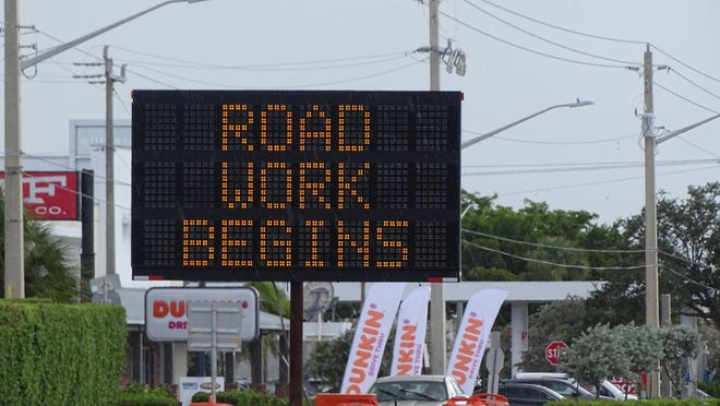 A 3.7-mile highway improvement project along Boynton Beach Boulevard from west of Jog Road to Congress Avenue is scheduled to be completed in 2021.