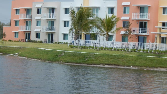 Heron Estates Senior Apartments is the first affordable housing complex built in Riviera Beach since Ivey Green public housing was built on 15 acres in the 1970s.