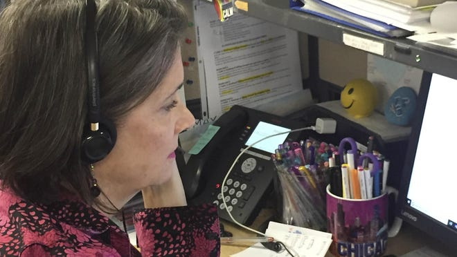 Palm Beach County's 211 information and referral service saw 'crisis' calls more than double after President Donald Trump declared a national emergency in the wake of the coronavirus in March 2020.