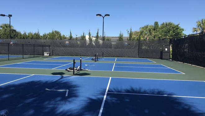 Pickleball courts at Valencia Bay remain closed as of May 4. Most retirement communities west of Boynton Beach have decided not to reopen their amenities even though the county ruled they could with certain restrictions.